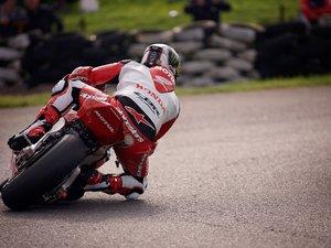 惊险摩托车比赛
