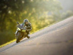 惊险的摩托车运动