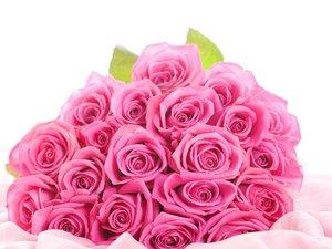 浪漫玫瑰花束