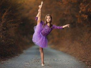 小芭蕾舞者