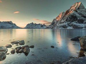 美丽的挪威峡湾