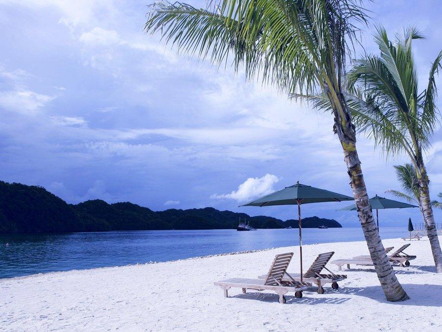海南三亚海滩风光