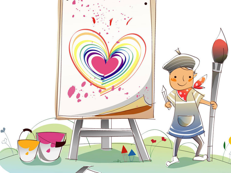 儿童手绘图