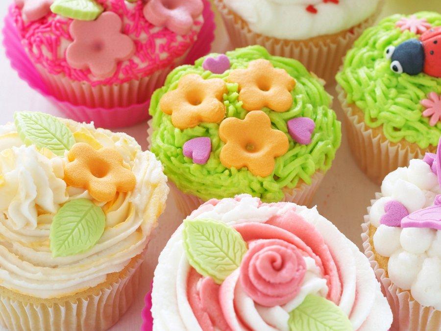 可爱美丽的蛋糕