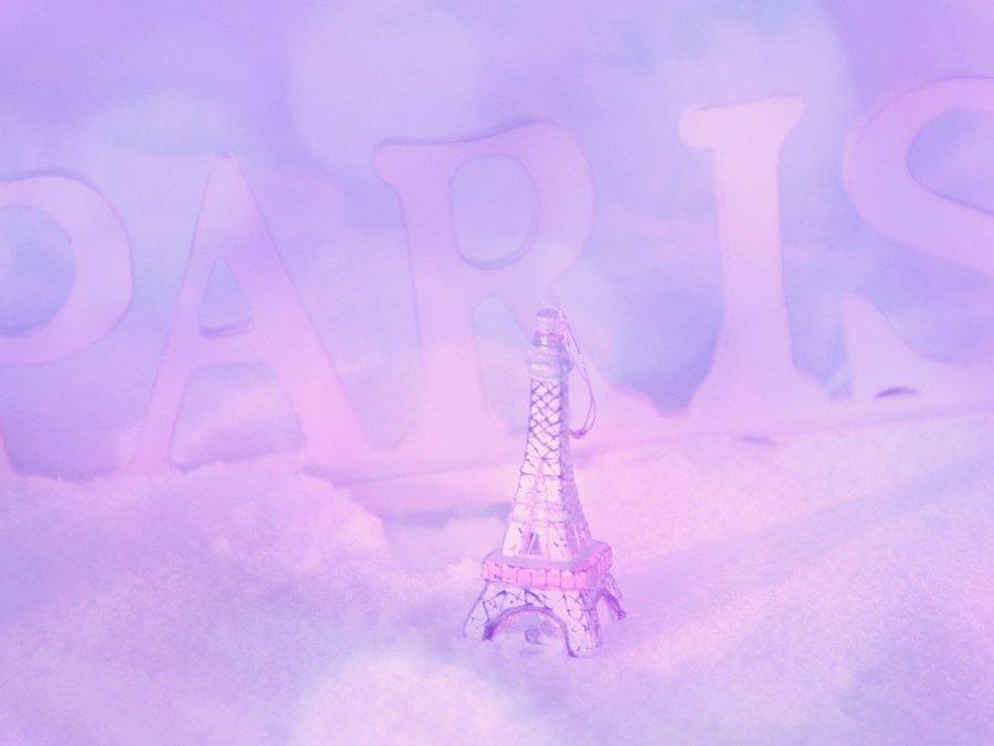 背景素材简约巴黎