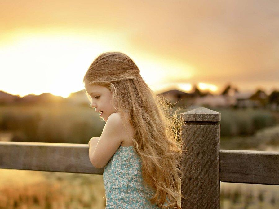 可爱的欧美小女孩