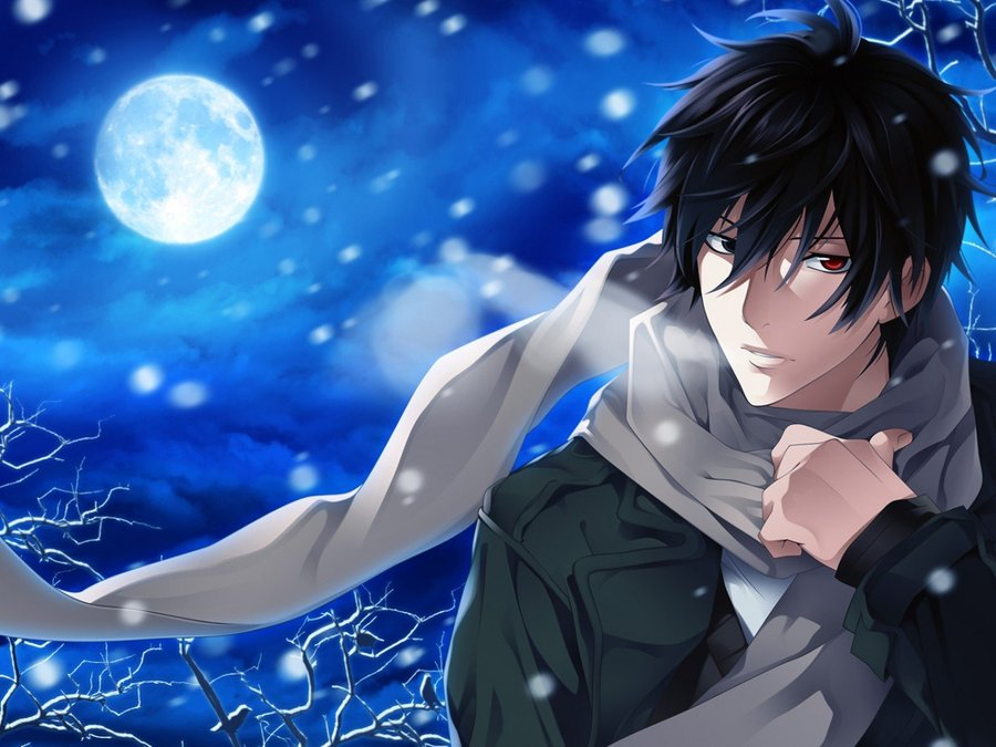 Anime Guys With Black Hair Pictures Cool Boy Drawings