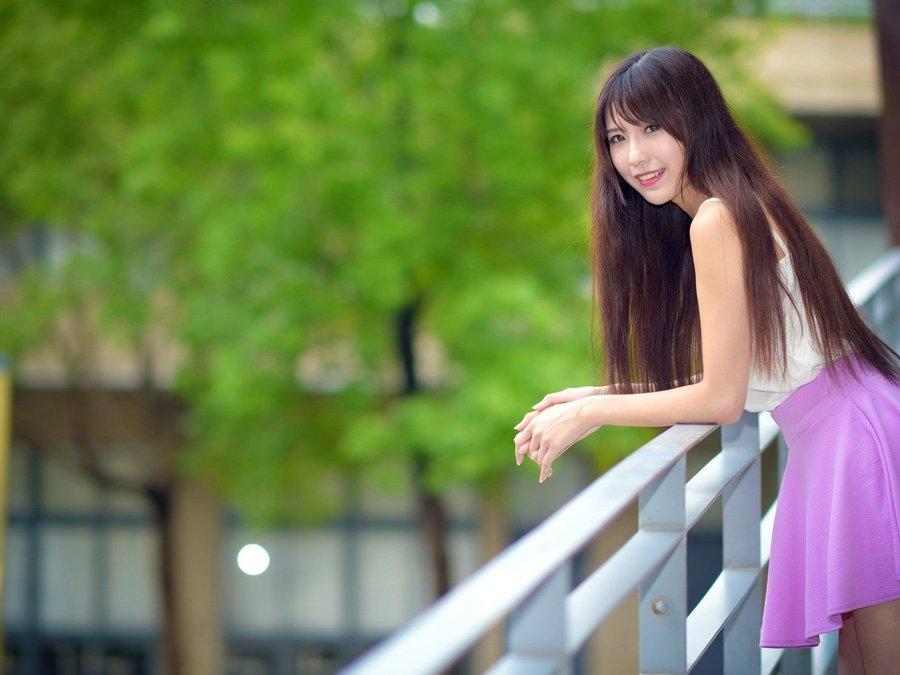 清纯可爱女孩