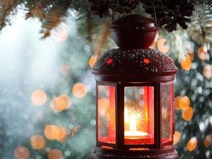 充满希望的灯火
