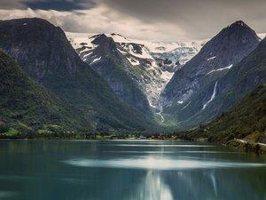 美丽的冰川国家公园