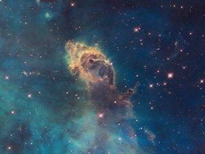 神秘的唯美星空
